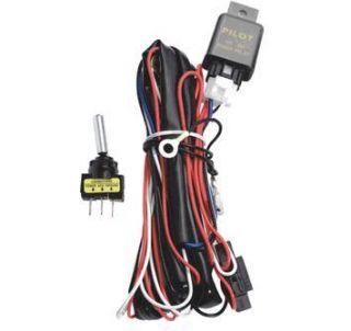 Pilot Wiring Harness Kit w Rocker Switch PL HARN12
