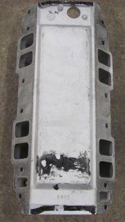 Edelbrock 2907 454 R Victor Air Gap Manifold Dominator Big Block Chevy
