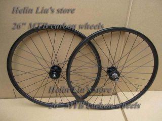 26inch MTB Carbon Wheelset 26 Mountain Carbon Wheels