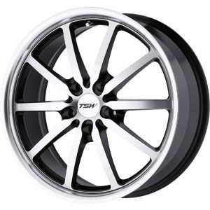 New 18X8 5 120 Sepang 5 Lug Matte Black Machined Wheel/Rim