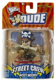 Tech Deck Dude Woody 027 Street Crew Ride Operator