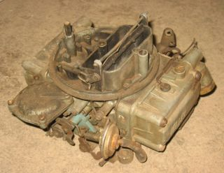 You are bidding on a used original Holley Carb for a 1970 Chrysler 440