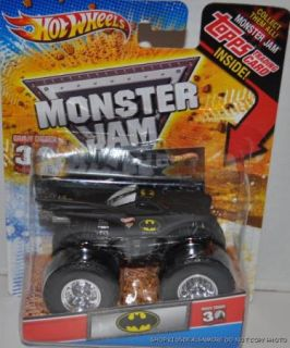 New Hot Wheels Monster Jam Batman Truck Grave differ 30th Anniversary