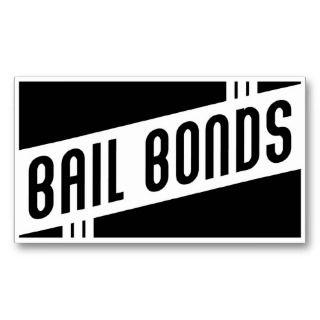 retro bail bonds business card