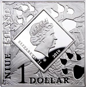 Niue Islands 2010 1$ Oddities of Nature Platypus 28 28g Silver Coin