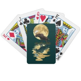 Forest Animals Deer, Elk, Moose Wildlife Pack Playing Cards