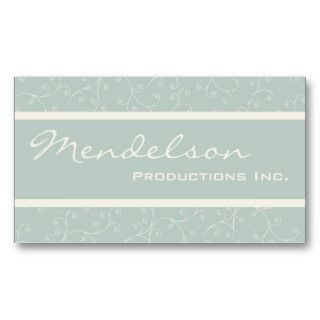 Modern Production Company Business Card