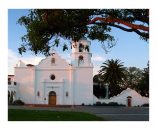 Mission San Luis Rey de Francia Church Photographic Print by Alan R Zeleznikar