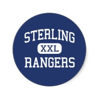 Sterling   Rangers   High School   Baytown Texas Stickers