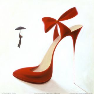 Highheels, Obsession Print by Inna Panasenko