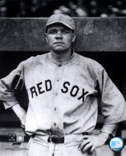 Babe Ruth   Red Sox Photograph