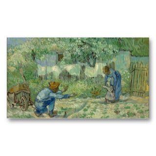 Steps, after Millet   Vincent van Gogh Business Cards