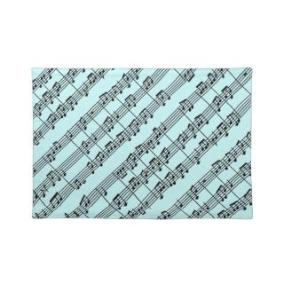 Musical Score Design Placemat
