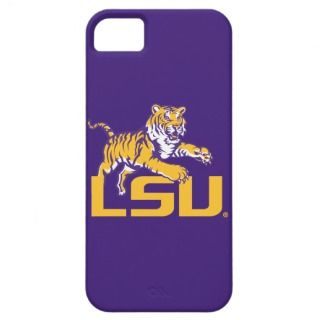 Tiger Over LSU   Gold iPhone 5 Cover