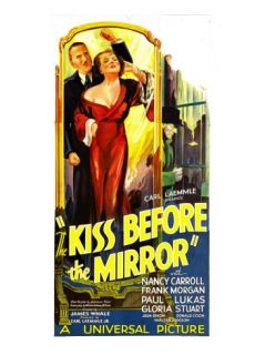 The Kiss before the Mirror, Frank Morgan, Nancy Carroll, 1933 Premium Poster