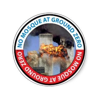 No Mosque At Ground Zero Stickers