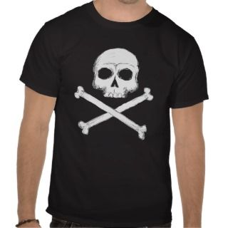 Pirate Skull and Crossbones T shirt