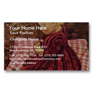Checked Pillows By Modersohn Be Business Card Template