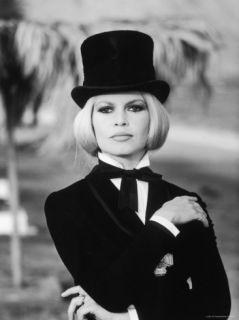 Brigitte Bardot Filming Shalako Premium Photographic Print by Bill Ray