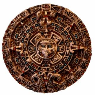 MAYAN AZTEC Mexican History Sun (sculpted) Magnet Photo Cut Out