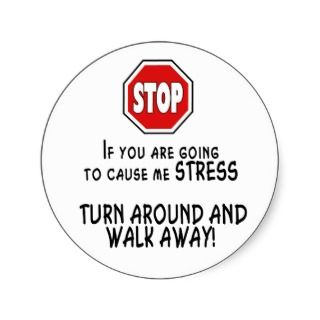 Stop Stress Stickers