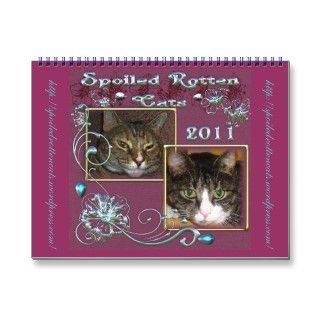 Official Spoiled Rotten Cats Calendar 2011