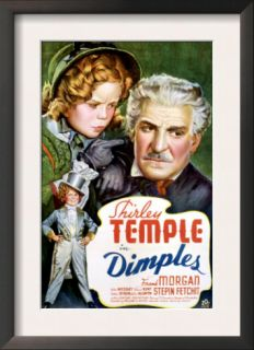 Dimples, Shirley Temple, Frank Morgan, 1936 Pre made Frame