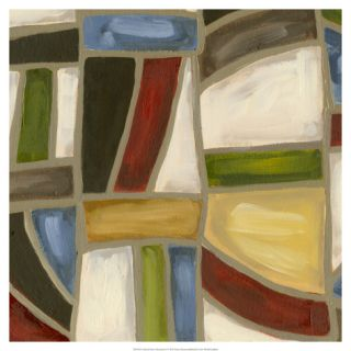 Stained Glass Abstraction I Giclee Print by Karen Deans