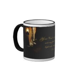Christian Inspirational Bible Verse Encouragement mugs by