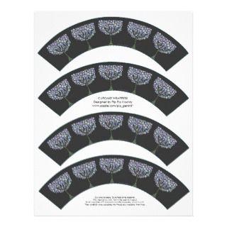 Tree Cupcake Wrappers Printable Letterhead Template