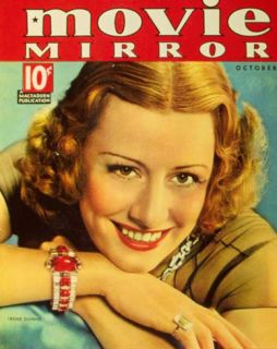 Irene Dunne   Movie Mirror Magazine Cover 1930s Masterprint