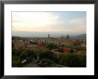 Aerial View Of Florence Italy Pre made Frame