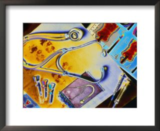 Medical Still Life Pre made Frame