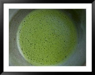 Japanese Tea Served at Okochi Denjiros Estate, Kyoto, Kinki, Japan Framed Photographic Print