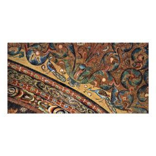San Vitale In Ravenna Vault Scene Photo Card Template