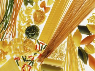 Various Types of Pasta Photographic Print by Karin Iden