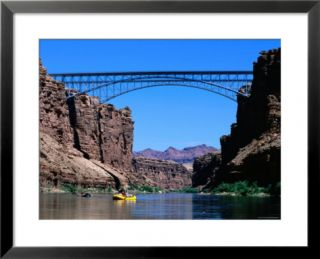 Highway 89A Bridge, Colorado River, Grand Canyon National Park, Arizona Pre made Frame