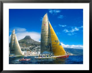 Whitbread Round the World Yacht Race 1997/98, Cape Town Restart, South Africa Pre made Frame