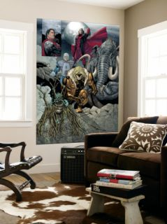 X Men #162 Group Sabretooth, Avalanche, Mamomax, Exodus and Black Tom Laminated Oversized Art by Salvador Larroca