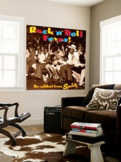 Rock N Roll Fever! the Wildest from Specialty Wall Mural