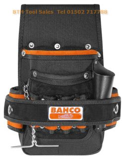 BAHCO Electricians Tool/ Fixings Pouch & Tape Chain,EP1