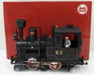 LGB 23201 K3 Black Steam Locomotive/Box