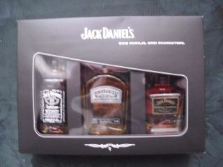 Jack Daniels Miniatur Set Single Barrel Gentleman No.7
