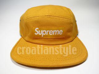 Supreme Box Logo CANVAS Camp Cap SS12 2012 5 panel hat donegal leopard