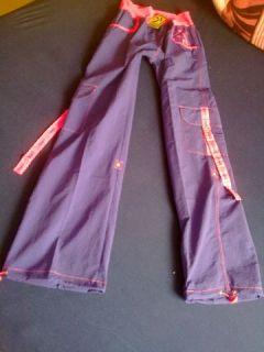 ZUMBA Electro Cargo Pants M lila neu mit Etikett NEUE KOLLEKTION