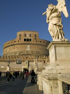 St. Angelo Castle, St. Angelo Bridge, Rome, Lazio, Italy, ope Photographic Print by Marco Cristofori
