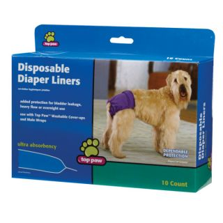Top Paw™ Disposable Diaper Liners   House Training   Dog