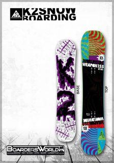 2013 Snowboard K2 WWW 155 cm Wide