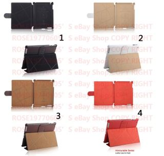 PR0381 Genuine Leather Case Pouch Cover Sleeve for Apple the new iPad