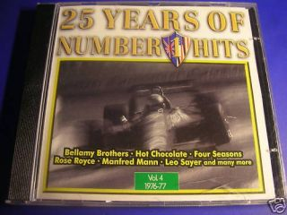 25 Years of Number 1 Hits vol.4 MANFRED MAN LEO SAYER